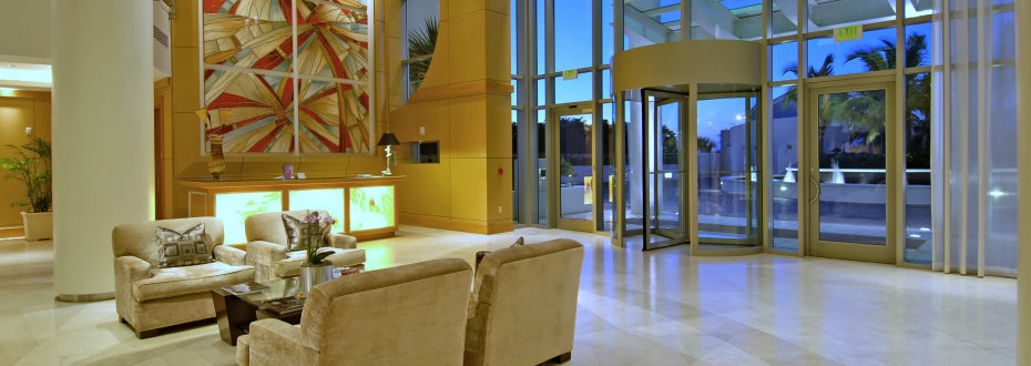 Luxurious lobby